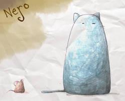cat n mouse by blacknero