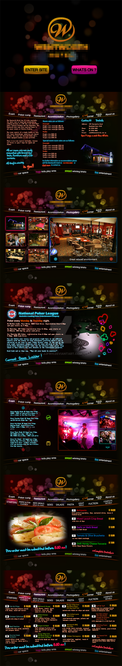 casino website design
