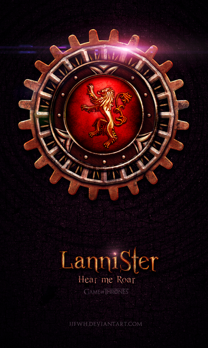 Game of Thrones Lannister Logo Game of Thrones Lannister by