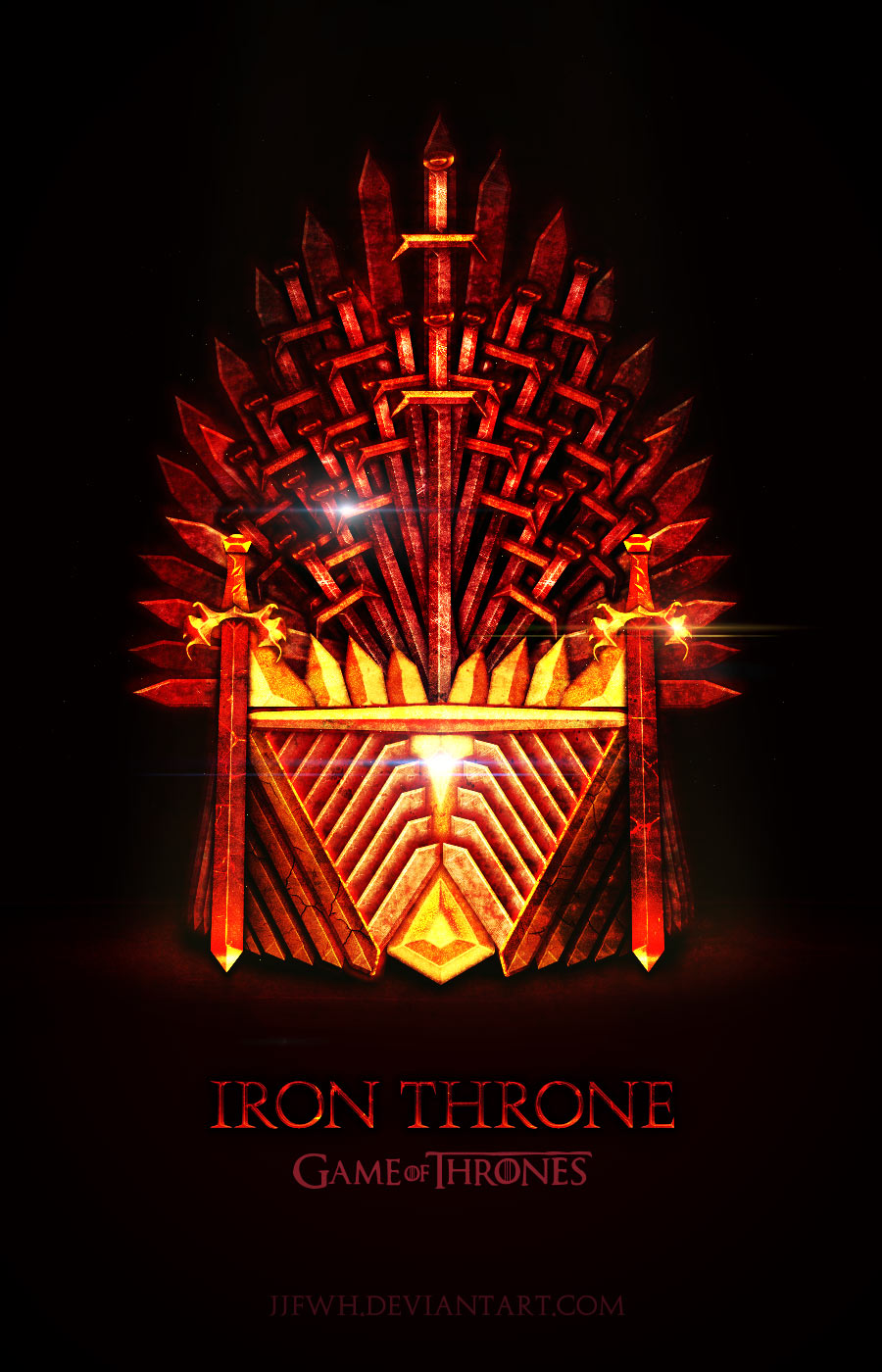Game of Thrones Iron Throne by jjfwh
