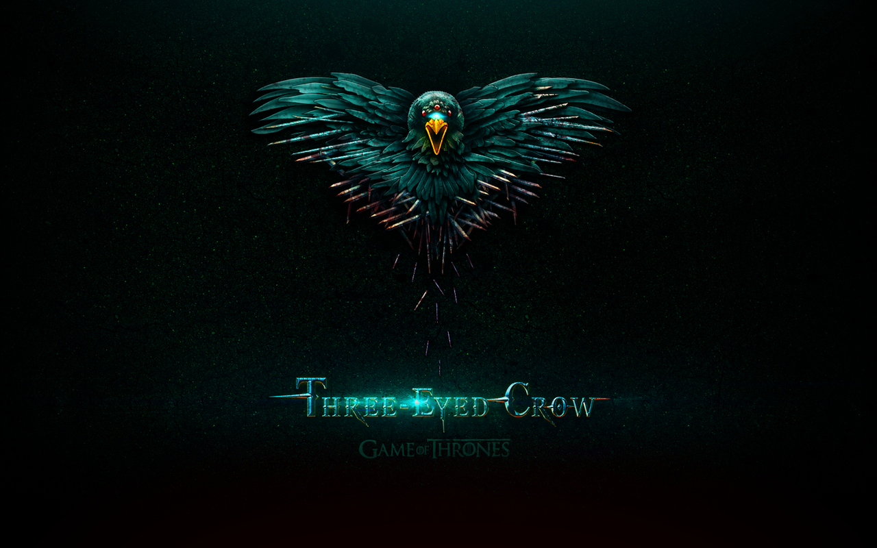 Game of Thrones three-eyed crow wallpaper by jjfwh