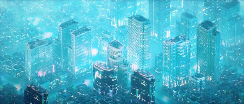 CyberPunk City 3