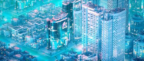 CyberPunk City 6