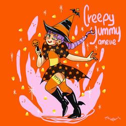 Creepy Yummy Amelie by Blacklottus
