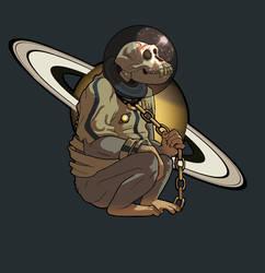 Saturn by RatShadows