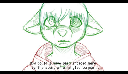 That Smell.... -WIP- by zimpuppy