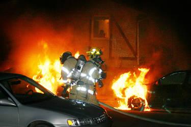 Car Fire Bombing 2 by al-b