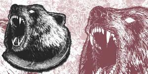 Wicked Bear Vector