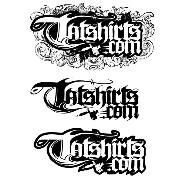 online tattoo company logo by chadlonius on deviantart. Black Bedroom Furniture Sets. Home Design Ideas