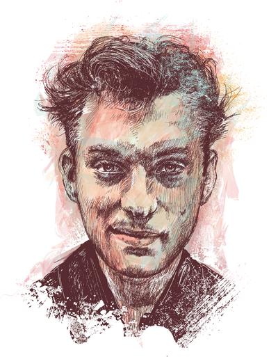 Jude Law Portrait by chadlonius