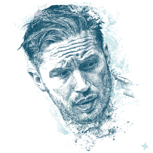 TOM HARDY by chadlonius by chadlonius