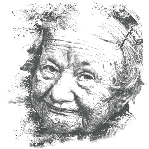 Irena Sendler Portrait by chadlonius