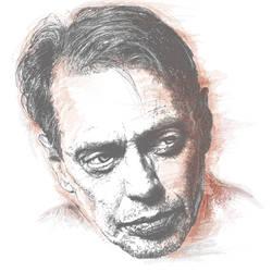 Steve Buscemi Portrait Art