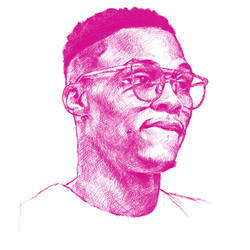 Russel Westbrook Stylized portrait