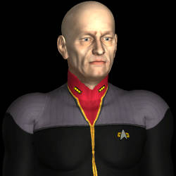Star Trek DS9 Admiral