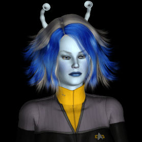 Star Trek DS9 tac-sec Andorian