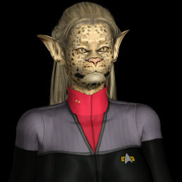Star Trek DS9 com-nav Caitian