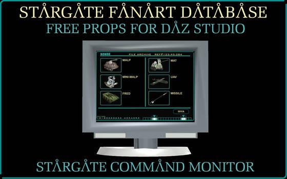 [Free Prop] Stargate Command Monitor