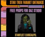 [Free Prop] Starfleet Exoscalpel for Daz Studio