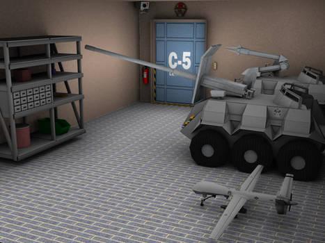 Stargate Command MALP MAT UAV room