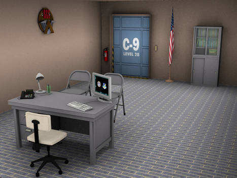 Stargate Command Office