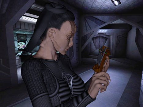 [Free Prop] Cardassian Tricorder for Daz and Poser