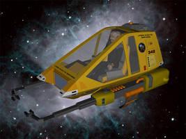 Workbee with Ferengi pilot