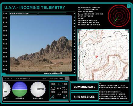 Stargate Command UAV Telemetry