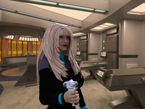 [Free Prop] Starfleet Dermal Regenerator for Daz