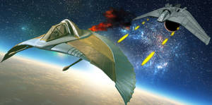 F-302 vs Goa'uld Death Glider