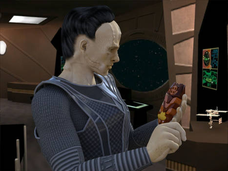 [Free Prop] Cardassian Data Device - Daz and Poser