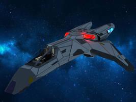 Gryphon fighter by MurbyTrek