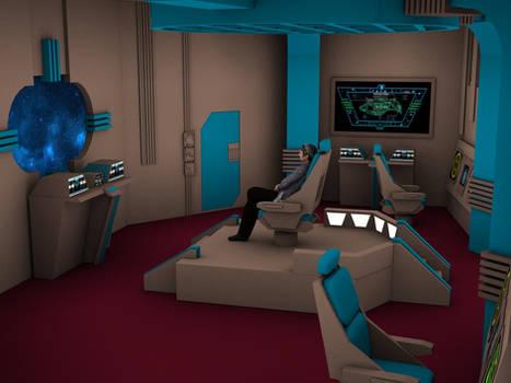 Romulan Warbird Bridge year 2369