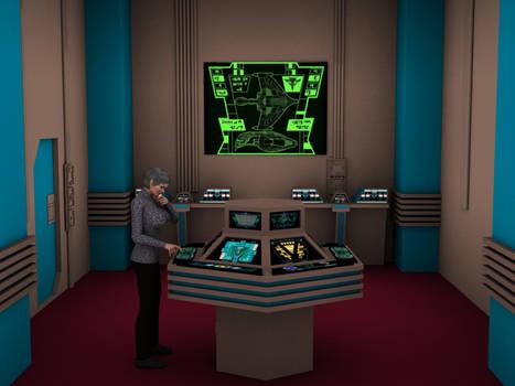 Romulan Warbird Engineering year 2369