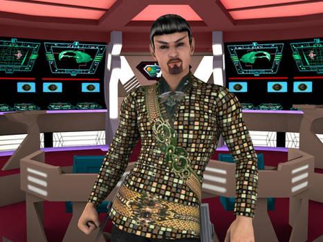 [Free Texture] Romulan Nemesis Uniform for M4