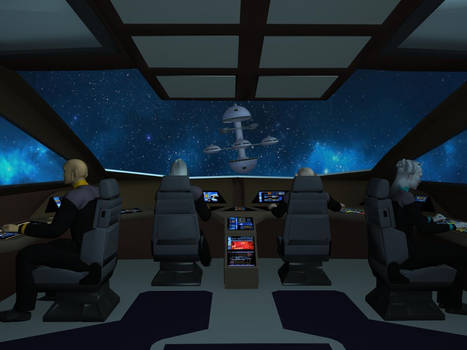 Shuttle Type 11 cockpit rear