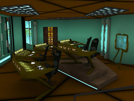 Stargate Atlantis: Control Room