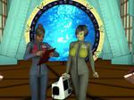 [Free Texture] Stargate Atlantis Uniform for V4 by MurbyTrek
