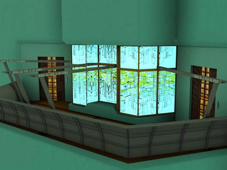 Stargate Atlantis: Balcony
