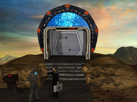 Star Trek meets Stargate in Holdeck by MurbyTrek