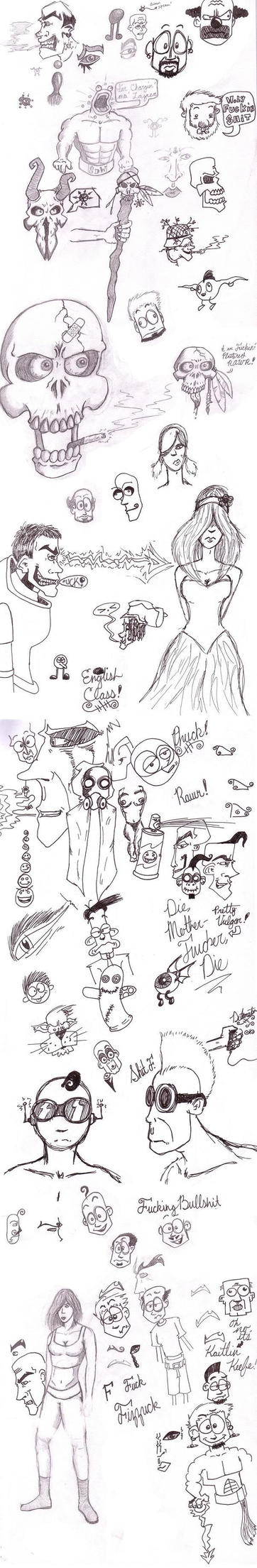 Class Notes by Epic-Dude