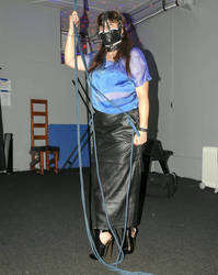 Introducing the Restraint World hobble skirt. by Captivekink