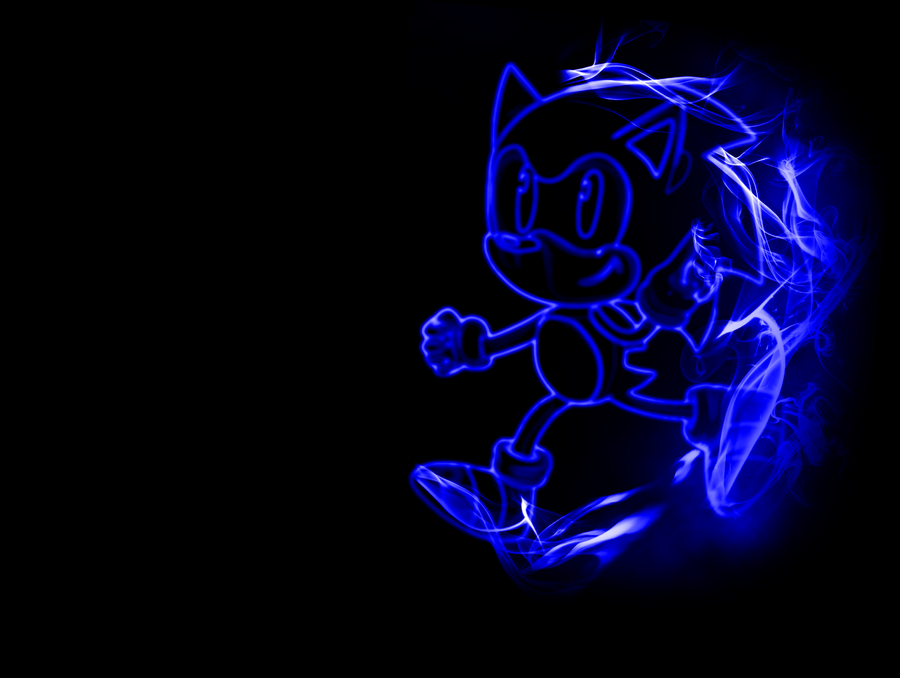 wallpaper sonic blue - photo #1
