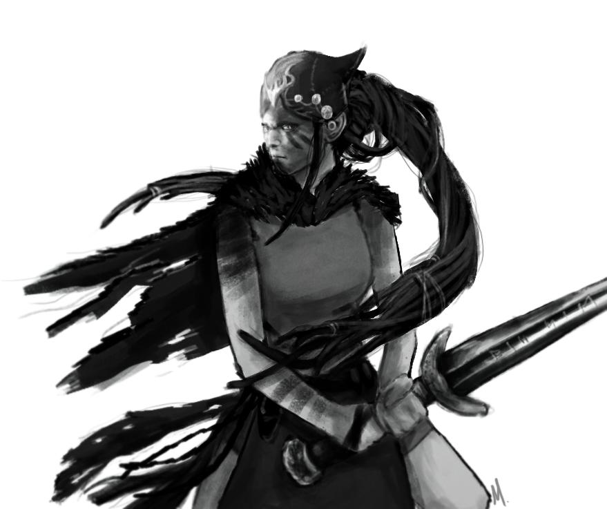 Hellblade - Senua by delsinrowee