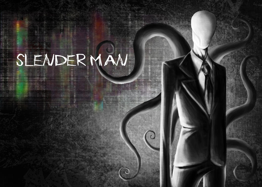Slender Man Wallpaper By Garnetbarren