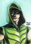 Green Arrow sketch card