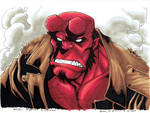 Fan Expo Van 2014 Art Adams Hellboy Colours