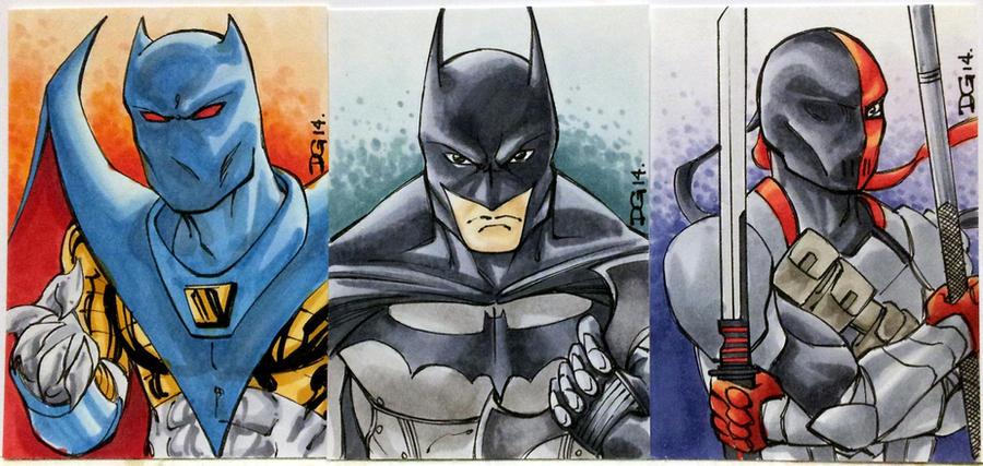 Batman PSCs by mechangel2002