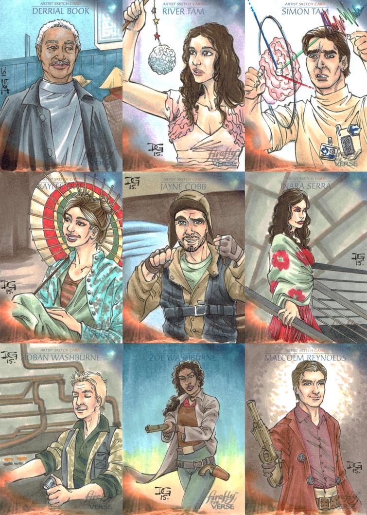 Firefly: The Verse sketch cards by mechangel2002