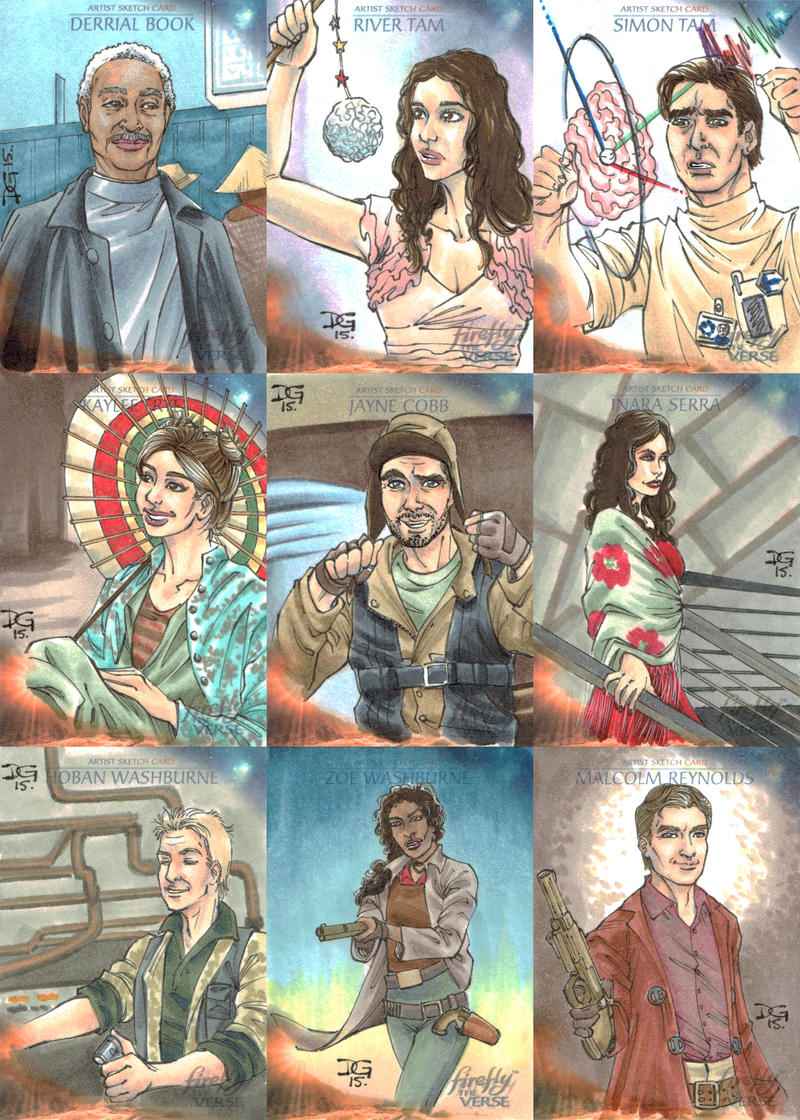 Firefly: The Verse sketch cards by mechangel2002